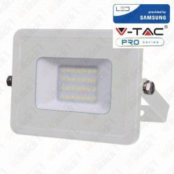 20W LED Floodlight Smd Samsung Chip White Body 6400K