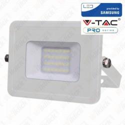 20W LED Floodlight Smd Samsung Chip White Body 6400K