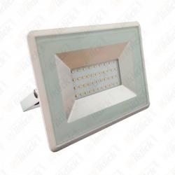 VT-4031 30W LED Floodlight E-Series SMD White Body 3000K