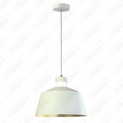 VT-7444 7W LED Pendant Light (Acrylic) - White Lamp Shade 250*190mm 3000K