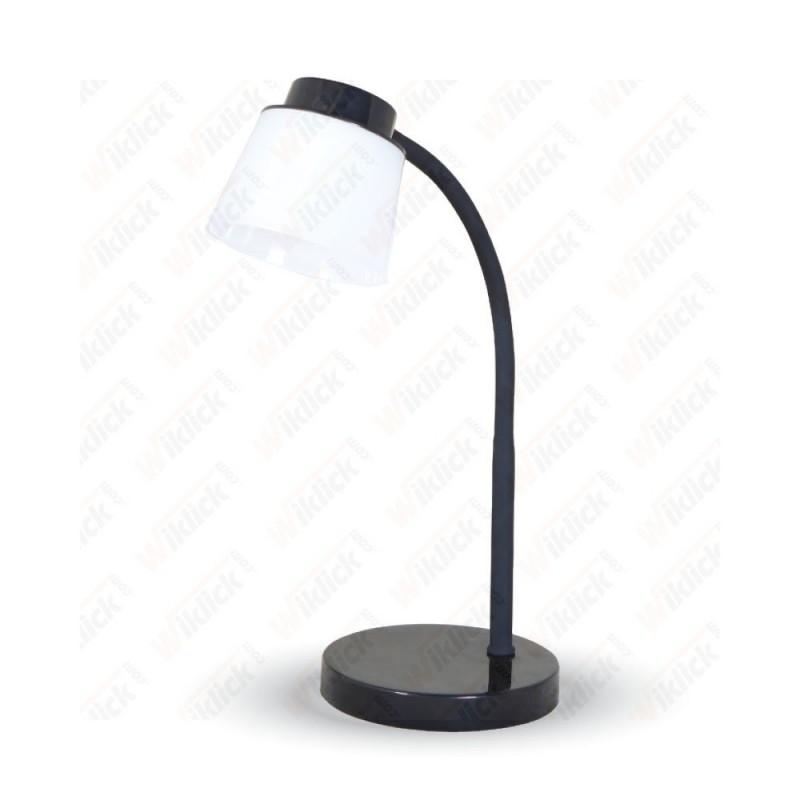 V-TAC VT-1015 Lampada LED da Tavolo 5W Colore Nero 4000K Touch Dimmerabile - SKU 7052