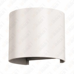 VT-756 6W Wall Lamp White Body Round IP65 3000K