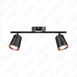 VT-812 12W LED Wall Lamp 3000K Black