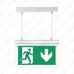 VT-520 16LEDS Surface Hanging Emergency LED Exit Light 6000K IP20