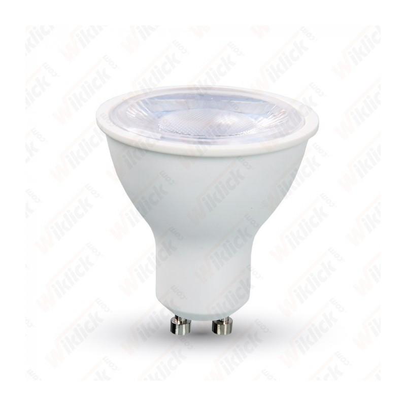 V-TAC VT-2889 LAMPADINA A FARETTO LED GU10 8W CON LENTE 38° LUCE BIANCO CALDO