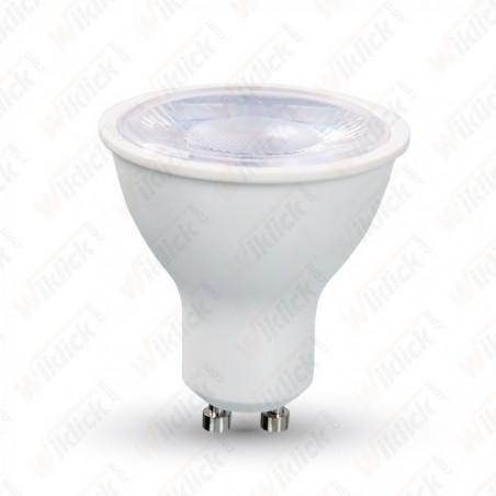 V-TAC VT-2889 LAMPADINA A FARETTO LED GU10 8W CON LENTE 38° LUCE BIANCO FREDDO