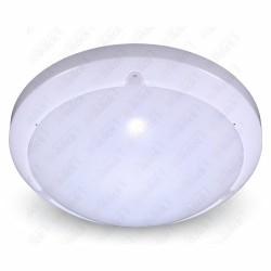 VT-8001 C 16W Dome LED Light With Sensor Microwave 3000K