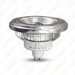 LED Spotlight - AR111 12W GU10 Beam 40 COB Chip 2700K