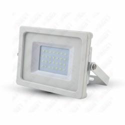 30W LED Floodlight White Body SMD 3000K - NEW