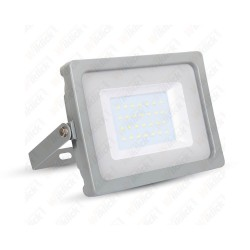 30W LED Floodlight Grey Body SMD 6400K - NEW