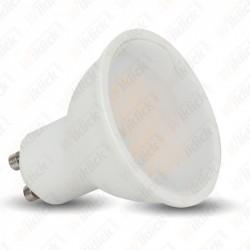 V-TAC VT-2096 LAMPADINA A FARETTO LED GU10 6W CON OPALINO 110° LUCE BIANCO FREDDO