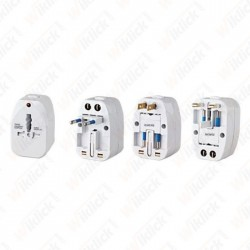 UNIVERSAL ADAPTOR WITHOUT...