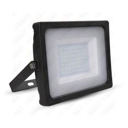 50W LED Floodlight Black Body SMD 4000K - NEW