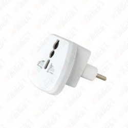 10A 250V~ UNIVERSAL ADAPTER...