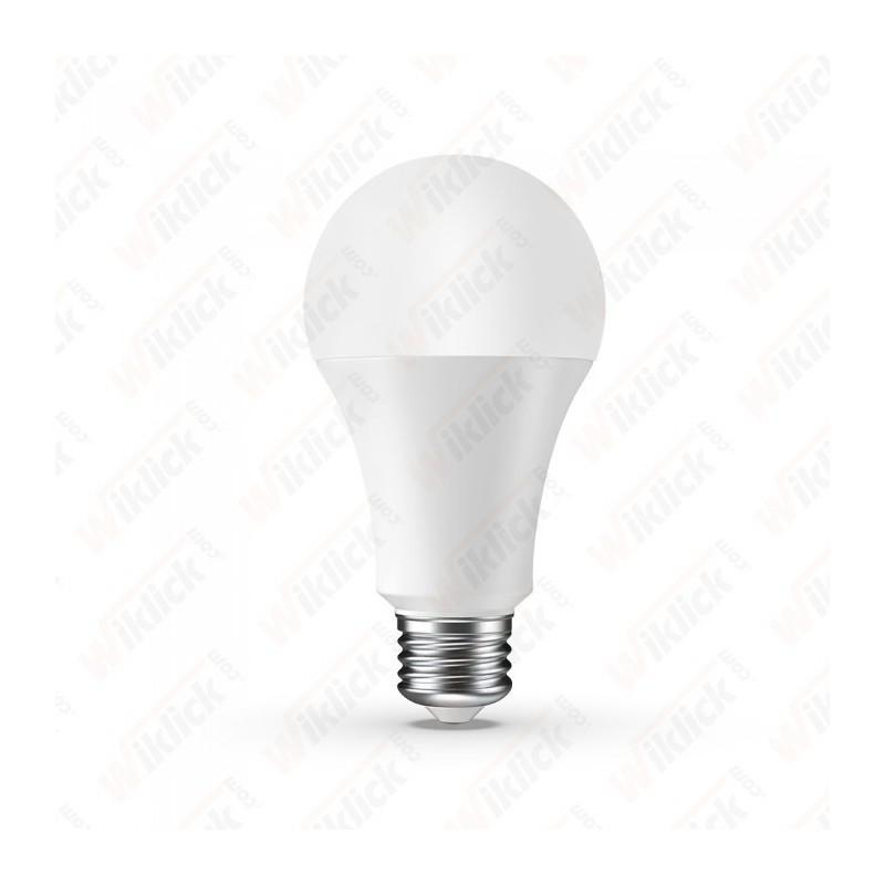 V-TAC VT-5010 Lampadina LED E27 9W A60 Compatibile con Google Home e Amazon Alexa RGB 4000K Dimmerabile - SKU 7451