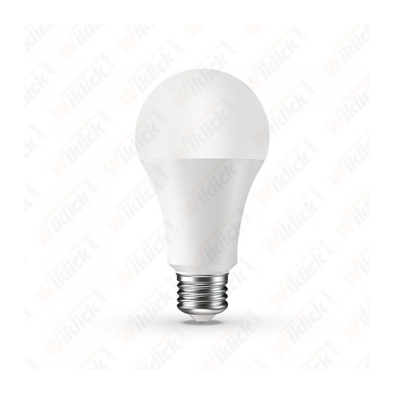 V-TAC VT-5010 Lampadina LED E27 9W A60 Compatibile con Google Home e Amazon Alexa RGB 6000K Dimmerabile - SKU 7452