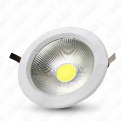30W LED COB Downlight Round A++ 120Lm/W 3000K - NEW