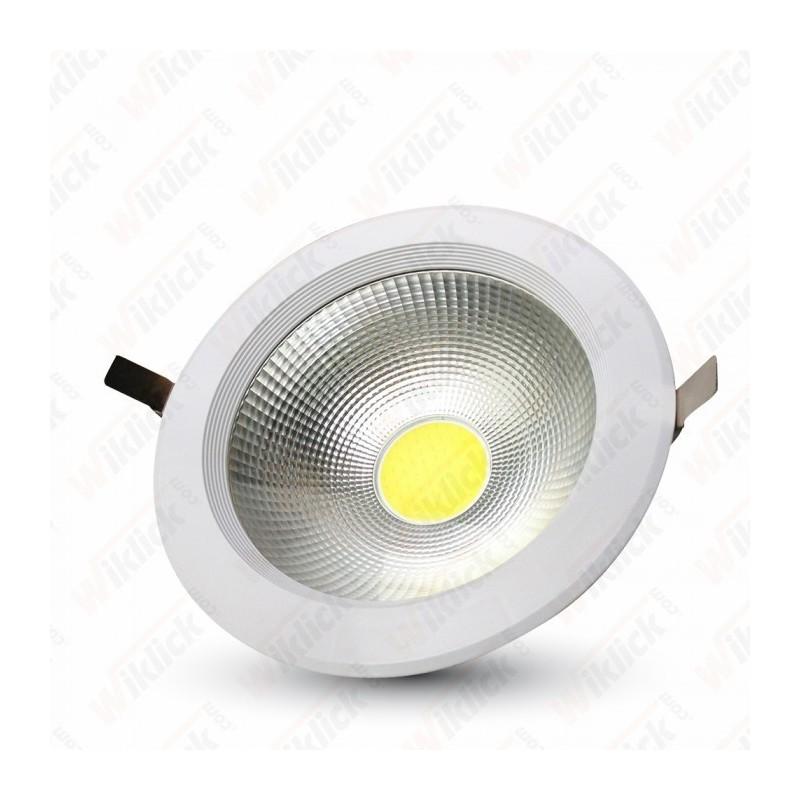 40W LED COB Downlight Round A++ 120Lm/W 4500K - NEW