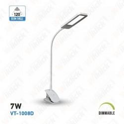 7W LED Table Lamp Desk Clip...