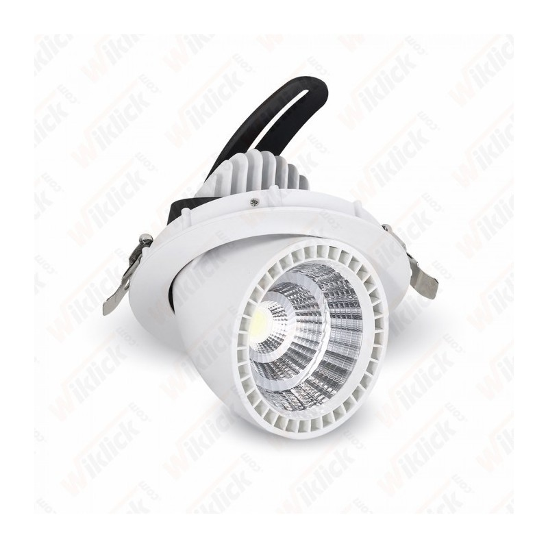 33W LED Zoom Fitting Downlight Round 3000K