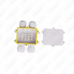 Waterproof White 4 Pin...