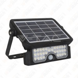5W LED Solar Floodlight 4000K