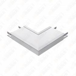 8W L Shape Connector Silver...