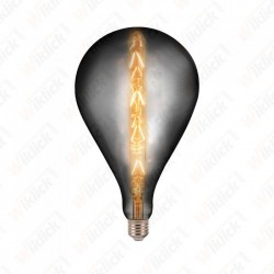 LED Bulb - 8W E27 G165 With...
