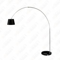 LED Floor Lamp E27 Black...