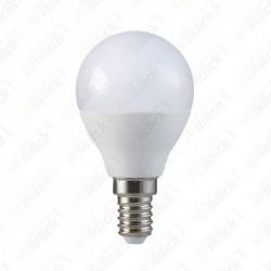 V-TAC VT-2098 LAMPADINA LED E14 7W P45 MINI GLOBO LUCE BIANCO FREDDO