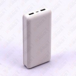 20K Mah Power Bank White