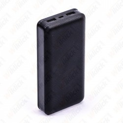 20K Mah Power Bank Black
