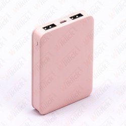 5K Mah Power Bank Pink