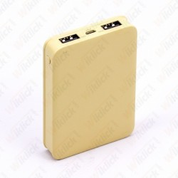 5K Mah Power Bank Yellow