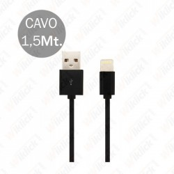 Iphone Cable Black With MFI...