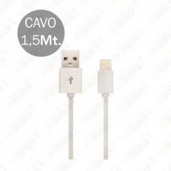 Iphone Cable White With MFI...