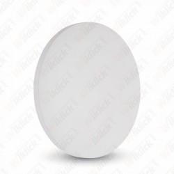9W Wall Lamp White Body Round IP65 3000K - NEW