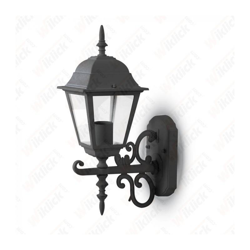 Wall Lamp Small Matt Black Up