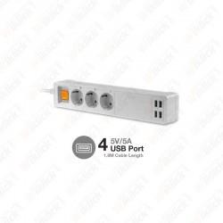 WIFI Power Strip Compatible...