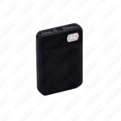 10K Mah Power Bank Black