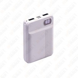 10K Mah Power Bank White