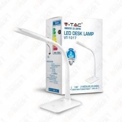 7W LED Desk Lamp  4000K White Body - NEW