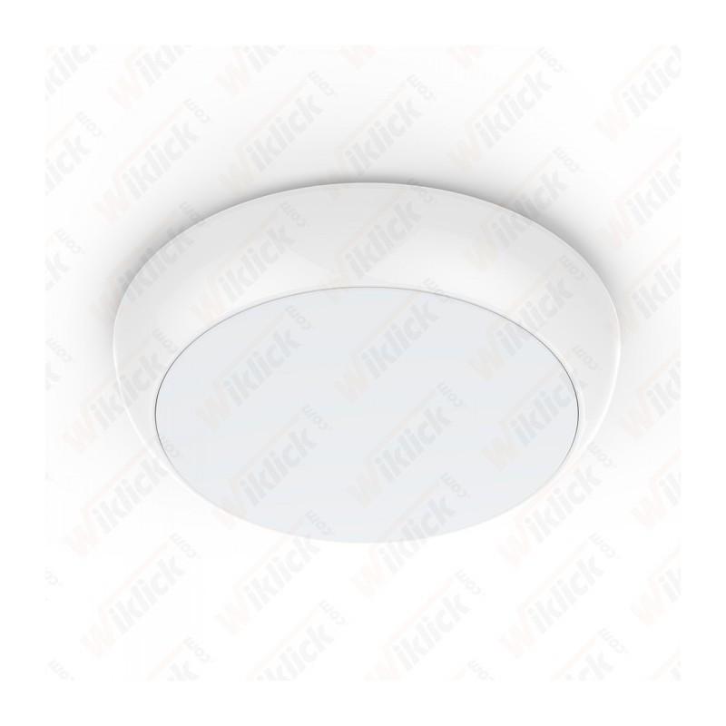 V-TAC PRO VT-15 Plafoniera LED Chip Samsung Rotonda 15W Colore Bianco 6400K IP65 - SKU 802