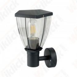 Wall Lamp Matt Black UP