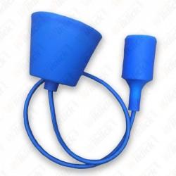 E27 Pendant Holder Blue Body