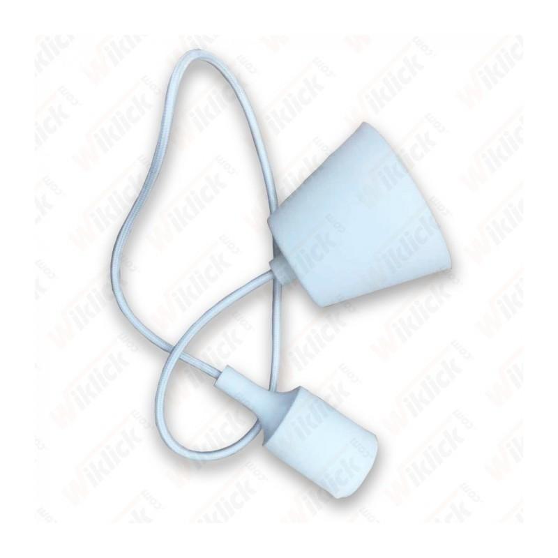 E27 Pendant Holder White Body