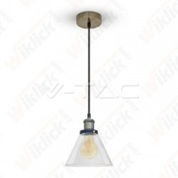 Vintage Glass Pendant Light...