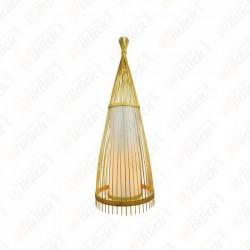 LAMPADA DA TERRA IN LEGNO...