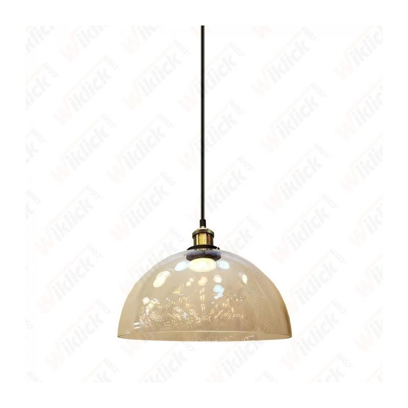Vintage Glass Pendant Light Transparent ?300 - NEW