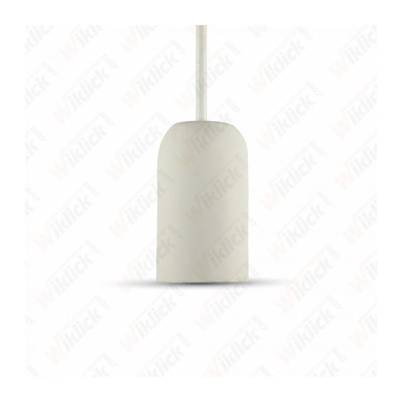 Cocrete Pendant Light White